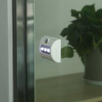 led小夜灯电池式墙壁灯光控自动人体感应迷你宿舍粘贴不插电