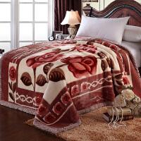 毛毯春秋加厚单人珊瑚绒毯子双层冬季四季被子结婚学生盖毯w定制