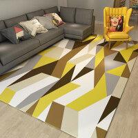 地毯客厅 现代简约家用沙发茶几垫几何北欧长方形美式定制可水洗k