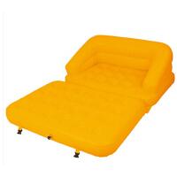 多功能超大舒适充气沙发床户外家居便携双人背靠沙发躺椅