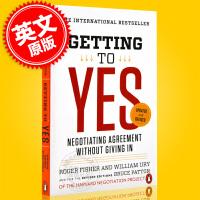 现货 谈判力 英文原版 Getting to Yes 增��优势,谈出利多人和的好结果 Roger Fisher 罗杰・