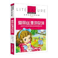 爱丽丝漫游奇境 教育部推荐小学生新课标必读世界经典名著儿童文学名校名师全解版