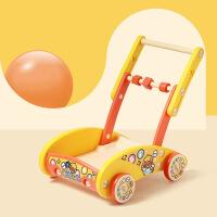 婴儿学步车手推车6-18个月学走路助步男女宝宝多功能推行玩具