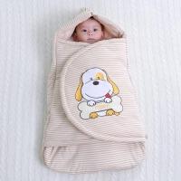 春秋冬季初生宝宝用品加厚棉保暖被包巾睡袋婴儿抱被新生儿包被