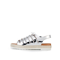 【 限时4折】爱旅儿夏季专柜同款凉鞋露趾平底女鞋EM65001