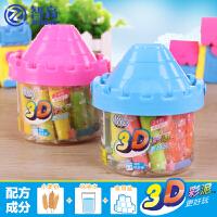 智高3D彩泥12色24色橡皮泥模具套装儿童手工轻粘土玩具像皮泥批发