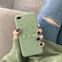 简约抹茶绿恐龙小米8手机壳8se青春版硅胶套6x情侣mix2s可爱note3