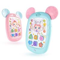 贝贝鸭儿童可咬牙胶平板故事机益智早教多功能带耳朵电话ipad点读机探索学习机