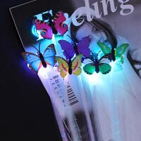 发光辫子光纤丝假发生日派对酒吧舞会儿童女孩闪光演唱会道具创意小礼品抖音玩具