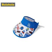 巴拉巴拉男童帽子夏装新款儿童鸭舌帽潮女时尚遮阳帽百搭简约