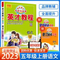 英才教程五年级上册语文部编人教版新版教材解读2021秋
