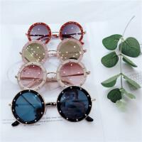儿童偏光太阳镜个性时尚韩版女童防紫外线眼镜韩国宝宝潮酷墨镜