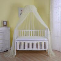 儿童蚊帐婴儿床落地夹式婴儿蚊帐婴儿床蚊带支架宝宝蚊帐