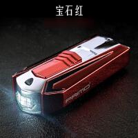 USB充电打火机金属LED灯男士电点烟器无声个性创意定制刻字