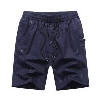 夏季中老年短裤男宽松爸爸装中年男士40岁50老年人大码五分休闲裤