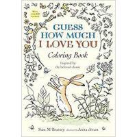 【预订】Guess How Much I Love You Coloring Book 9780763694678