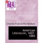 【中商海外直订】American Literature, 1607-1885