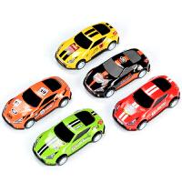 玩具 男孩 4-6岁 儿童玩具迷你小汽车回力合金车模型套装惯性车耐摔男孩4-5岁宝宝6