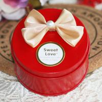 创意马口铁喜糖盒袋成品礼盒 个性结婚婚庆用品 包装盒首饰盒梳妆盒 50个装