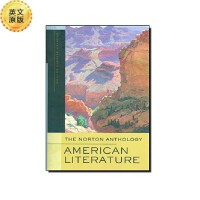 英文原版 诺顿选集:美国文学 The Norton Anthology: American Literature