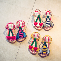 夏季可爱凉鞋儿童沙滩鞋宝宝公主鞋