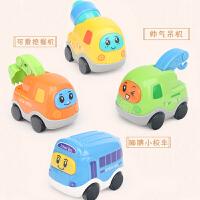 儿童玩具小孩0-3岁卡通校车创意工程车挖土机挖掘机3-6岁