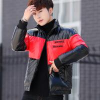 2018冬季新款棉衣男士加厚保暖面包服青年短款冬装韩版潮男士羽绒棉衣立领棉袄子
