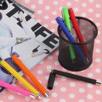 中性笔 学生办公文具广告水笔 签字笔定制 七彩水性笔品牌笔韩国