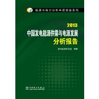 能源与电力分析年度报告系列 2013 中国发电能源供需与电源发展分析报告