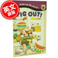 [现货]英文原版 PIG OUT! 儿童读物 早教 英语 幼儿 汪培�E第一阶段