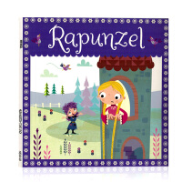 Rapunzel长发公主 英文原版绘本 欧美儿童启蒙经典童话故事 亲子互动 睡前伴读