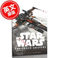 现货 英文原版 Star Wars 星球大战原力觉醒 载具透视设定集