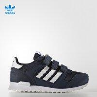 【到手价:239.6元】阿迪达斯(adidas)童鞋秋季新款男女童休闲运动鞋轻便跑鞋BB2446藏青