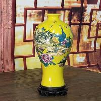 景德镇陶瓷器简约客厅小花瓶现代时尚仿古白插花摆件家居摆设装饰抖音
