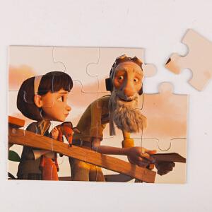 Hape小王子组合拼图我的梦3岁以上拼装环保玩具儿童木制宝宝益智启蒙积木拼插拼图拼板824779