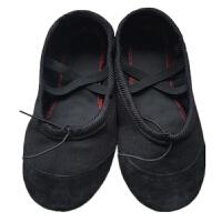 儿童舞蹈鞋男童女童幼儿园软底练功室内鞋男孩女孩黑色跳舞鞋