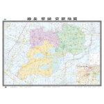 雄县容城安新地图(2018版)