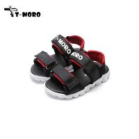 【99元任选2双】T-moro童鞋19新款儿童时尚酷帅凉鞋男童轻便透气休闲学生鞋(8-15岁可选)DD0091