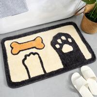 浴室防滑垫门垫门厅地毯卧室吸水脚垫卫浴厕所卫生间门口进门地垫