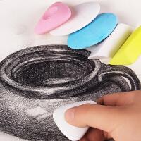 柏伦斯高光橡皮擦美术生素描绘画专用素描铅笔三角象皮造型橡皮学生擦得干净像皮擦画画绘图小橡皮