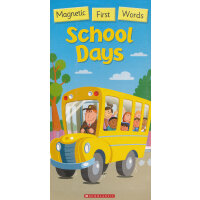 Magnetic First Words: School Days 磁铁神奇词汇:学校的一天ISBN9789810860