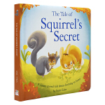 Squirrel's Secret 松鼠的秘密 幼儿故事绘本 学会守信 睡前故事 原版