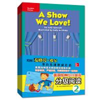 美国加州少儿英语分级阅读2 幼儿英语启蒙教材有声绘本全16册 3-6岁英语单词句子宝宝英语零基础入门 小学生课外阅读分