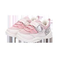 童鞋女童运动鞋冬季新款宝宝学步鞋1-3岁保暖休闲鞋