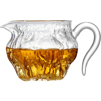 功夫茶具配件锤纹茶海家用分茶器茶漏套装公杯