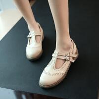 初中生小学生黑色皮鞋9-10-11-12-13-14-15岁大童女孩子春秋单鞋