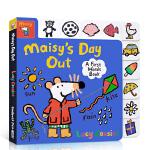 顺丰发货 英文原版 Maisy's Day Out: A First Words Book 小鼠波波 廖彩杏书单 2-