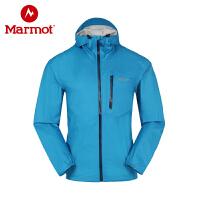 Marmot/土拨鼠春秋款男士户外冲锋衣防水透气超轻夹克