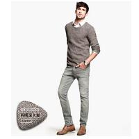 男士新款休闲韩版毛衣 男圆领套头针织衫   时尚男装外套