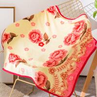 小毛毯珊瑚绒单人薄办公室午休毯膝盖毯空调毯子y